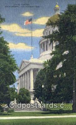 cap001504 - Sacramento, California, CA  State Capital, Capitals Postcard Post Card USA