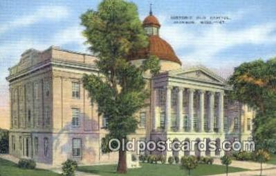 cap001508 - Jackson, Mississippi, MS State Capital, Capitals Postcard Post Card USA