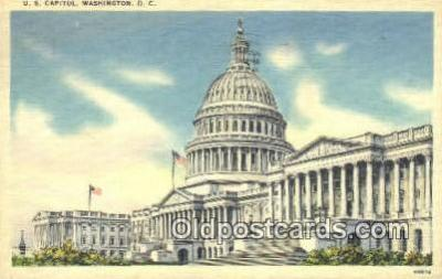 cap001510 - Washington DC State Capital, Capitals Postcard Post Card USA