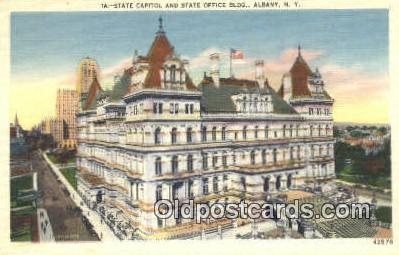cap001511 - Albany, New York, NY  State Capital, Capitals Postcard Post Card USA