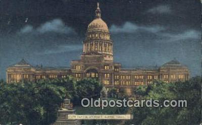 cap001516 - Austin, Texas, TX State Capital, Capitals Postcard Post Card USA