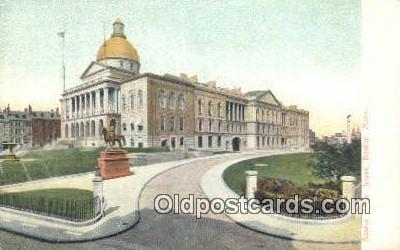 cap001524 - Boston, Massachusetts, MA State Capital, Capitals Postcard Post Card USA
