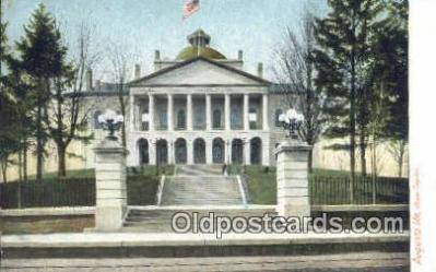 cap001527 - Augusta, Maine, ME State Capital, Capitals Postcard Post Card USA
