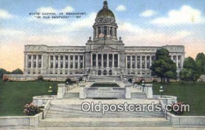 cap001530 - Frankfort, Kentucky, KY State Capital, Capitals Postcard Post Card USA