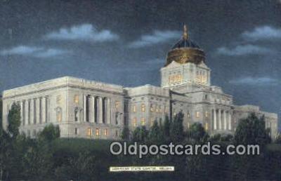 cap001536 - Helena, Montana, MT  State Capital, Capitals Postcard Post Card USA