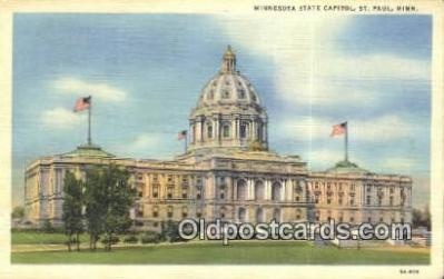 cap001545 - St Paul, Minnesota, MN  State Capital, Capitals Postcard Post Card USA