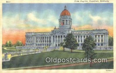 cap001550 - Frankfort, Kentucky, KY State Capital, Capitals Postcard Post Card USA
