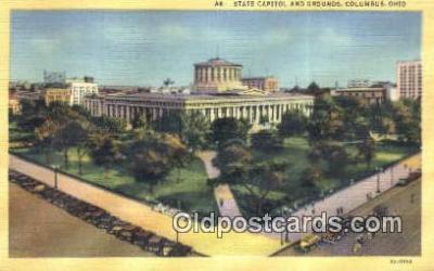 cap001552 - Columbus, Ohio, OH  State Capital, Capitals Postcard Post Card USA