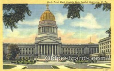 cap001561 - Charleston, West Virginia, WV State Capital, Capitals Postcard Post Card USA