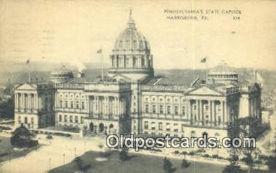 cap001573 - Harrisburg, Pennsylvania, PA  State Capital, Capitals Postcard Post Card USA