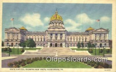 cap001575 - Harrisburg, Pennsylvania, PA  State Capital, Capitals Postcard Post Card USA