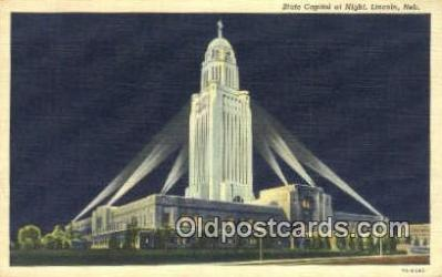 cap001581 - Lincoln, Nebraska, NE  State Capital, Capitals Postcard Post Card USA