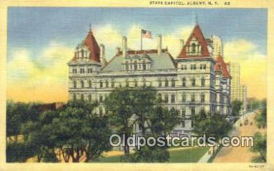 cap001582 - Albany, New York, NY  State Capital, Capitals Postcard Post Card USA