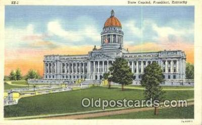 cap001583 - Frankfort, Kentucky, KY State Capital, Capitals Postcard Post Card USA