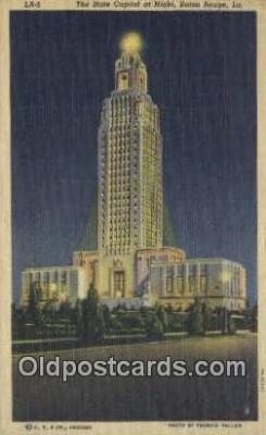 cap001589 - Baton Rouge, Louisiana, LA  State Capital, Capitals Postcard Post Card USA