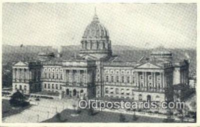 cap001590 - Harrisburg, Pennsylvania, PA  State Capital, Capitals Postcard Post Card USA