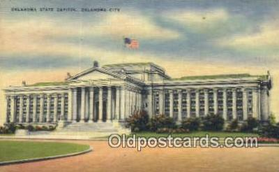cap001591 - Oklahoma City, Oklahoma, OK State Capital, Capitals Postcard Post Card USA