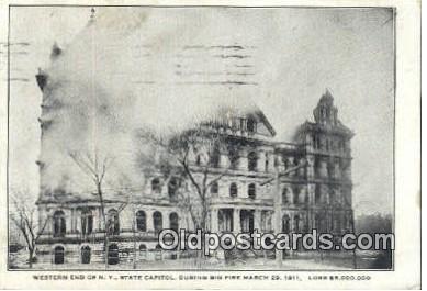 cap001594 - Albany, New York, NY  State Capital, Capitals Postcard Post Card USA