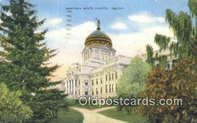 cap001597 - Helena, Montana, MT  State Capital, Capitals Postcard Post Card USA