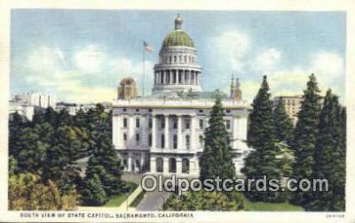 cap001598 - Sacramento, California, CA  State Capital, Capitals Postcard Post Card USA