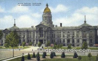cap001607 - Cheyenne, Wyoming, WY  State Capital, Capitals Postcard Post Card USA
