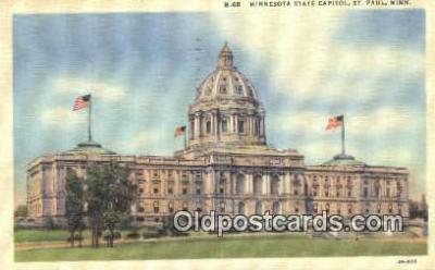 cap001608 - St Paul, Minnesota, MN  State Capital, Capitals Postcard Post Card USA
