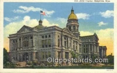 cap001617 - Cheyenne, Wyoming, WY  State Capital, Capitals Postcard Post Card USA