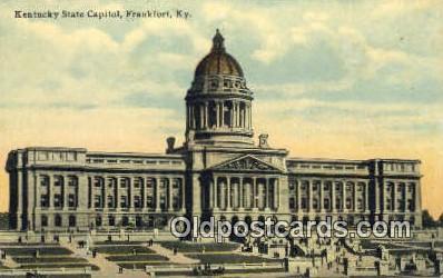 cap001621 - Frankfort, Kentucky, KY State Capital, Capitals Postcard Post Card USA
