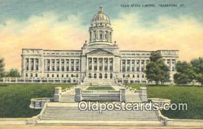 cap001626 - Frankfort, Kentucky, KY State Capital, Capitals Postcard Post Card USA