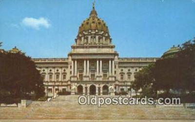 cap001646 - Harrisburg, Pennsylvania, PA  State Capital, Capitals Postcard Post Card USA