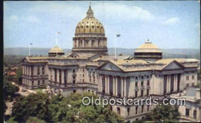 cap001647 - Harrisburg, Pennsylvania, PA  State Capital, Capitals Postcard Post Card USA