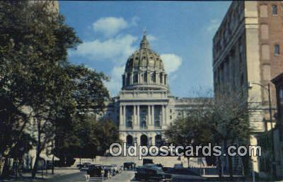 cap001649 - Harrisburg, Pennsylvania, PA  State Capital, Capitals Postcard Post Card USA
