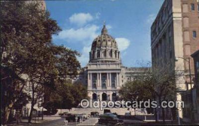 cap001650 - Harrisburg, Pennsylvania, PA  State Capital, Capitals Postcard Post Card USA