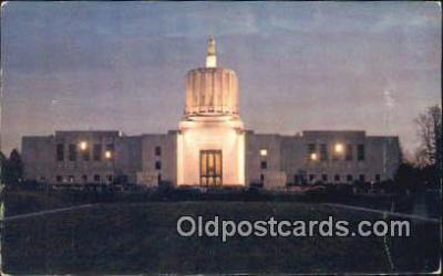cap001651 - Salem, Oregon, OR  State Capital, Capitals Postcard Post Card USA