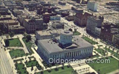 cap001653 - Columbus, Ohio, OH  State Capital, Capitals Postcard Post Card USA