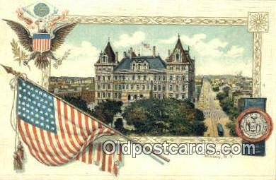 cap001673 - Albany, New York, NY  State Capital, Capitals Postcard Post Card USA