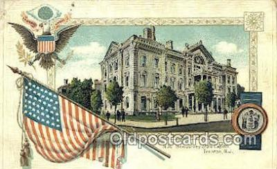 cap001684 - Trenton, New Jersey, NJ  State Capital, Capitals Postcard Post Card USA