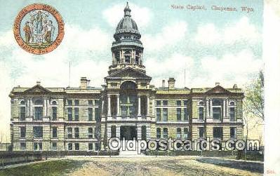 cap001691 - Cheyenne, Wyoming, WY  State Capital, Capitals Postcard Post Card USA