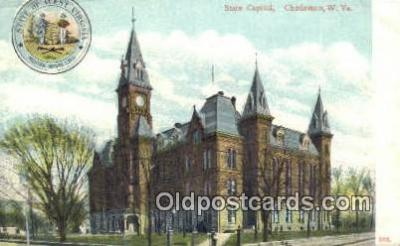 cap001692 - Charleston, West Virginia, WV State Capital, Capitals Postcard Post Card USA