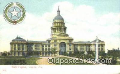 cap001696 - Austin, Texas, TX State Capital, Capitals Postcard Post Card USA