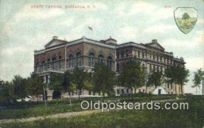 cap001701 - Bismarck, North Dakota, ND State Capital, Capitals Postcard Post Card USA