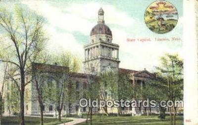 cap001702 - Lincoln, Nebraska, NE  State Capital, Capitals Postcard Post Card USA