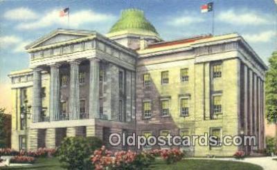 cap001711 - Raleigh, North Carolina, NC  State Capital, Capitals Postcard Post Card USA