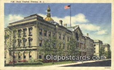 cap001712 - Trenton, New Jersey, NJ  State Capital, Capitals Postcard Post Card USA