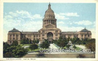 cap001737 - Austin, Texas, TX State Capital, Capitals Postcard Post Card USA