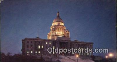 cap001743 - Providence, Rhode Island, RI State Capital, Capitals Postcard Post Card USA