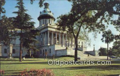 cap001745 - Columbia, South Carolina, SC State Capital, Capitals Postcard Post Card USA