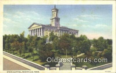 cap001749 - Nashville, Tennessee, TN State Capital, Capitals Postcard Post Card USA