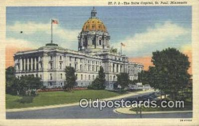 cap001754 - St Paul, Minnesota, MN  State Capital, Capitals Postcard Post Card USA