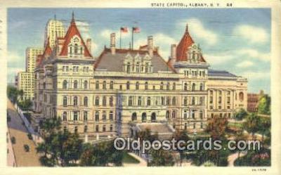 cap001759 - Albany, New York, NY  State Capital, Capitals Postcard Post Card USA